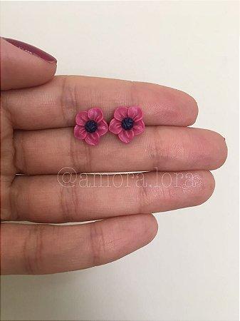 Brinco Manoela Pink