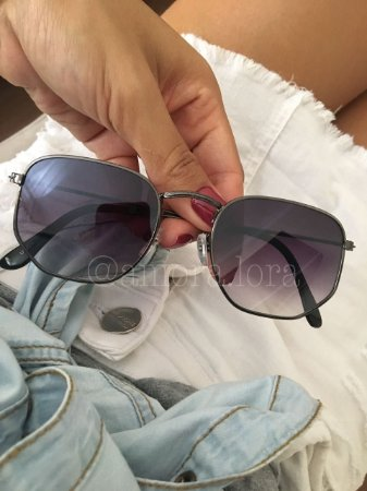 Óculos de Sol Geométrico Sintia