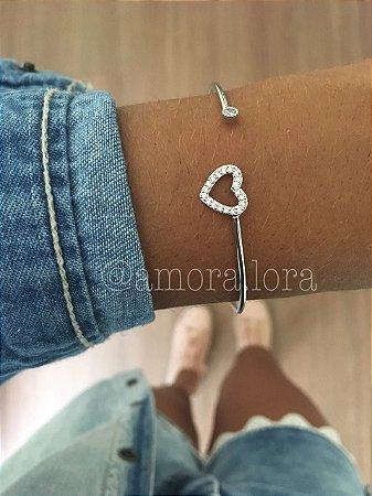 Bracelete Coraçãozinho