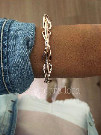Bracelete Vários Laços Rose Ref.302