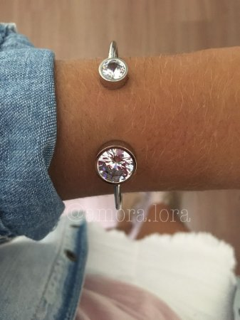Bracelete Cristal Ref.318
