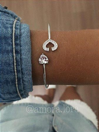 Bracelete Coração Ref.600