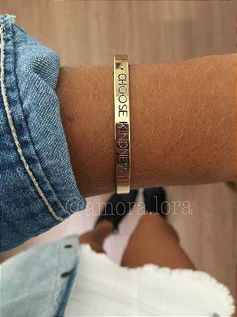 "Bracelete ""CHOOSE KINDNESS"""