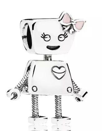 Berloque Bela Bot - Prata 925 - Ref.787