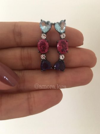 Brinco Ear Cuff Mix Colors Ref.1008