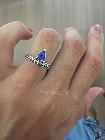 Anel Gota Azul REf.1099
