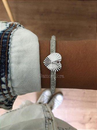 Bracelete Coração Ref.1327