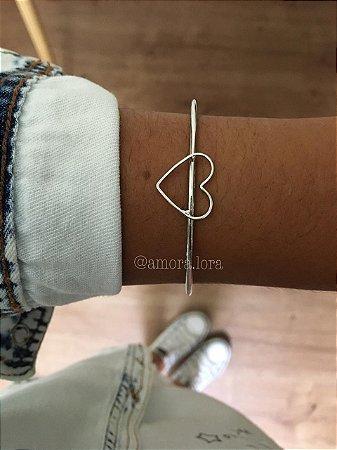 Bracelete Coração Ref.1329