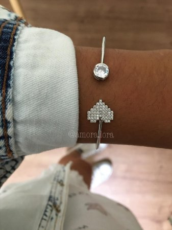 Bracelete Coração Ref.1339