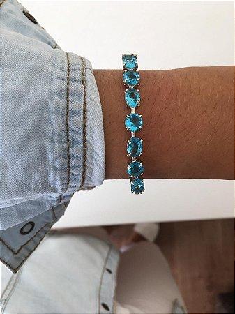 Pulseira Pedra Azul
