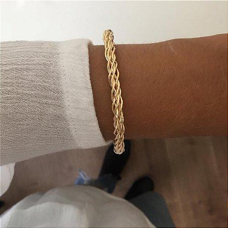 Bracelete Dourado Ref.P065