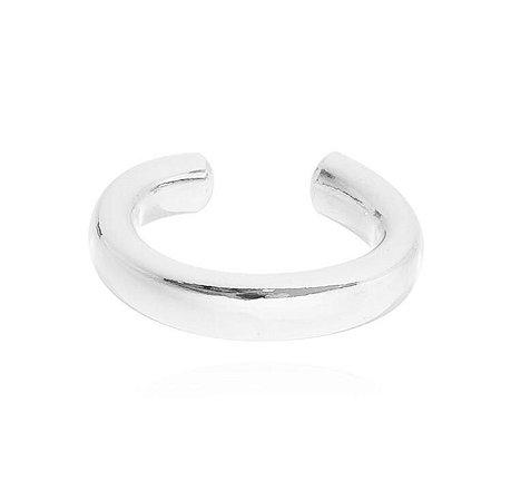 Piercing Liso Banhado em Prata ou Ródio Branco