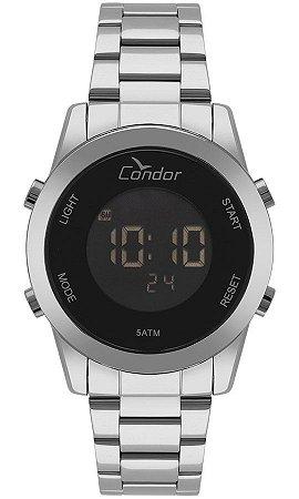 Relógio Condor Feminino Digital Prata -COBJ3279AB3P