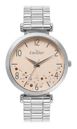 Relógio Condor Feminino Prata- CO2036MVR4K