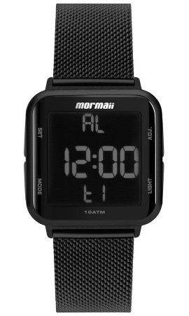 Relógio Mormaii Feminino Preto - MO6600AG8P