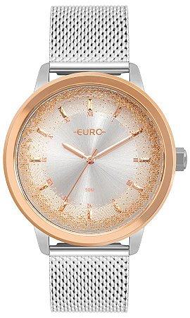 Relógio Euro Feminino Prata -EU2036YQQ4K