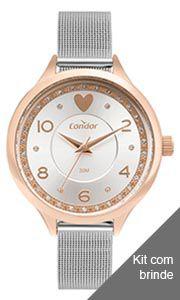 Kit Relógio Condor Feminino - COPC21AECDK4K