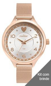 Kit Relógio Condor Feminino - COPC21AECCK4J