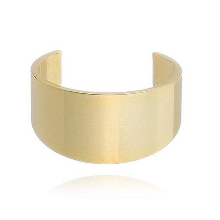Piercing Liso Chapado Banhado em Ouro18k