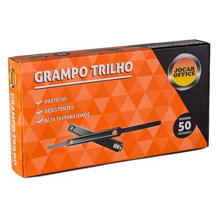 GRAMPO TRILHO 80 MM CX COM 50 UN