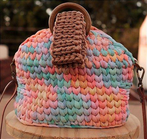 Bolsa Argola Tie Dye