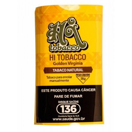 Hi Tobacco Golden Virginia 35g - Tabaco Natural
