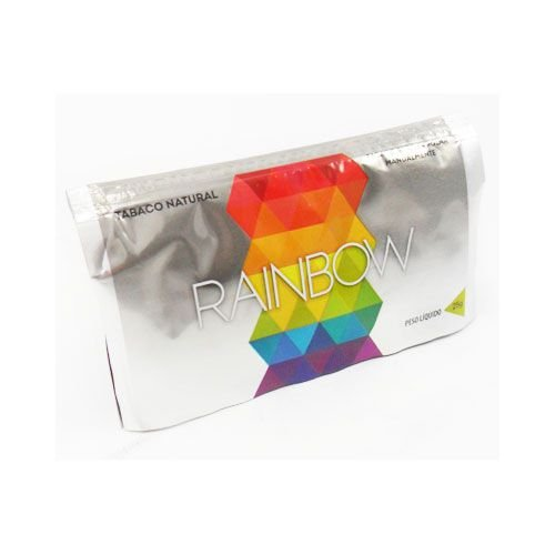 Rainbow Silver Bright 25g - Tabaco Natural