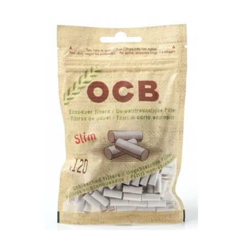 Filtro OCB Slim Ecologico 6mm Biodegradável