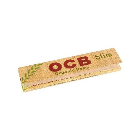 Seda OCB Slim Orgânica King Size c/32 Folhas