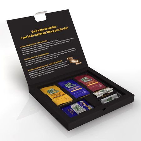 Hi Tobacco | Kit Com Tabacos Naturais e Acessórios