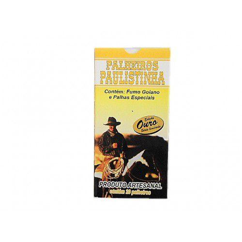 Palheiros Paulistinha | Cigarro de Palha - Ouro