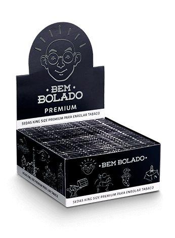 BEM BOLADO | CAIXA DE SEDA KING SIZE PREMIUM - 50UN