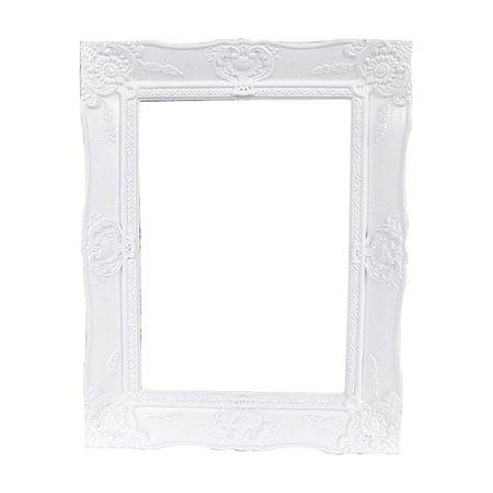 Porta Retrato New Cirque em Plástico Branco 18X22CM