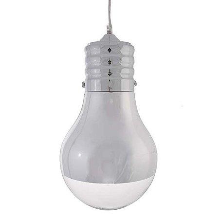 Pendente Bulbo Transparente 24X120CM