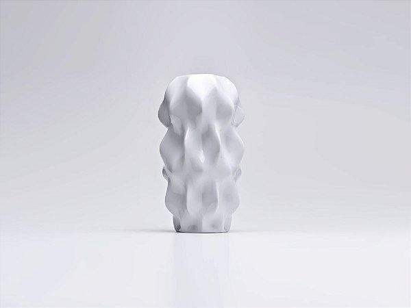 Vaso Cerâmica Plissan Grande 22X39CM
