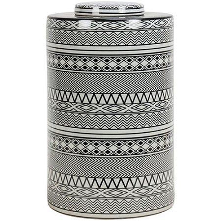 Pote Cerâmica Redondo Alto 21X33CM