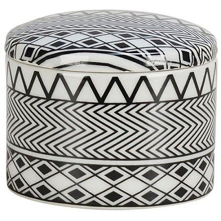 Caixa Decorativa em Cerâmica 12X9 CM