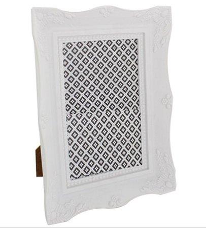 Porta Retrato Classico Branco 15X21cm