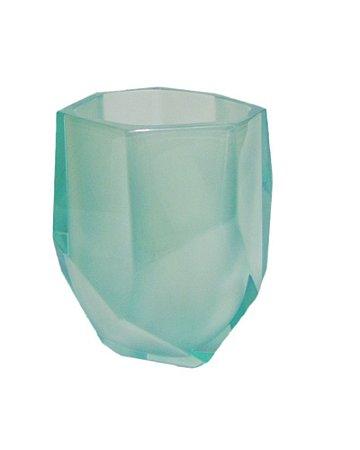 Vaso de Cristal Gema Verde