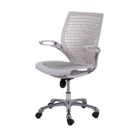 Cadeira de Escritório Giratória com Tela de Nylon