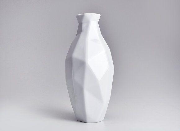 Vaso de Porcelana Edros G Branco 40cm