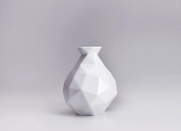 Vaso de Porcelana Edros P Branco 24cm