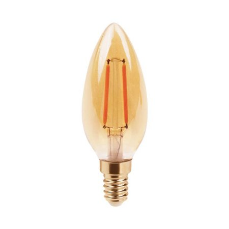 Lâmpada Filamento de LED Vela