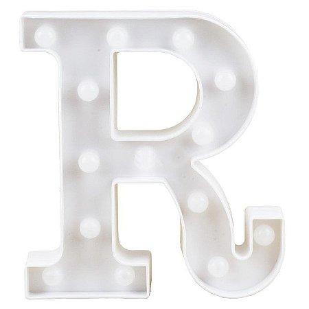 Letra Luminosa R