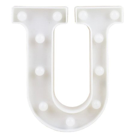 Letra Luminosa U