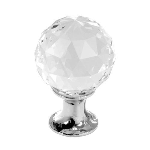 Puxador de Cristal 3x4cm