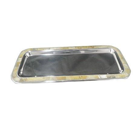 Bandeja em Aluminio 36x15cm