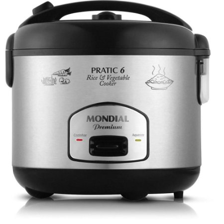 Panela Elétrica Pratic Rice & Vegetables Cooker 6 Premium 2