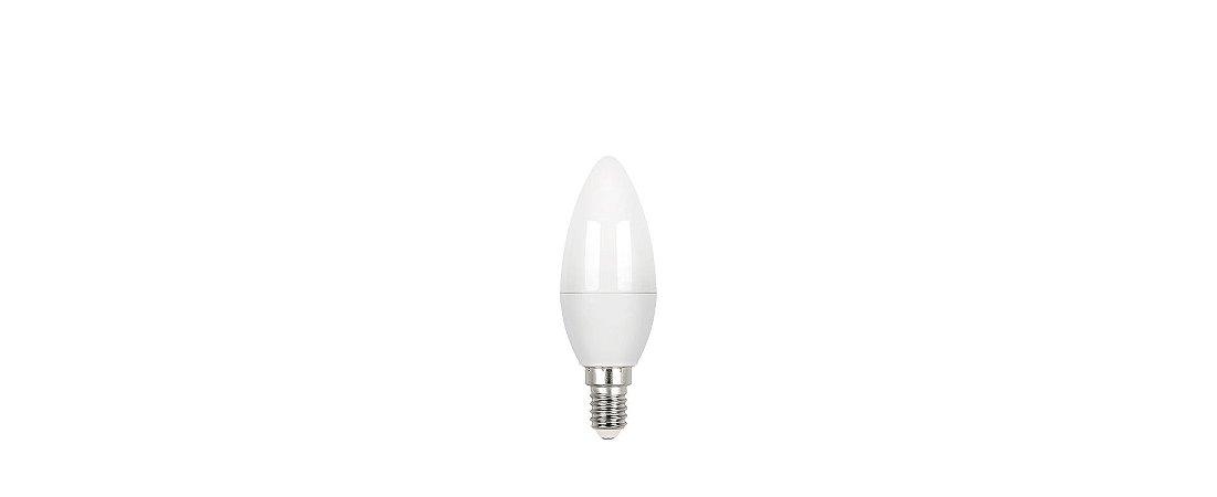 Lâmpada LED Vela Fosca 3W 260LM E17