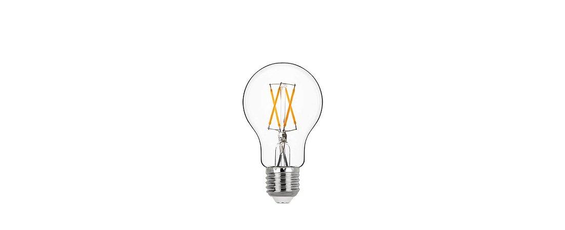 Lâmpada LED Balloon Filamento G95 4W 400LM E27 2700K